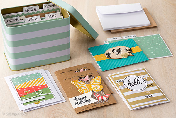 Stampin' Up! - Tin Of Cards 138378L