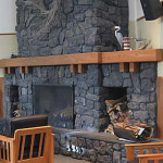 Oregon Retreat Fireplace