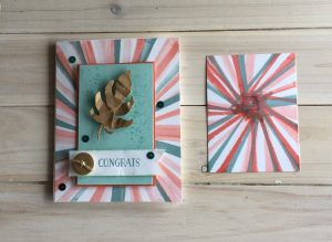 Bouncing Brayer Starburst Card using Stampin' Up! Products