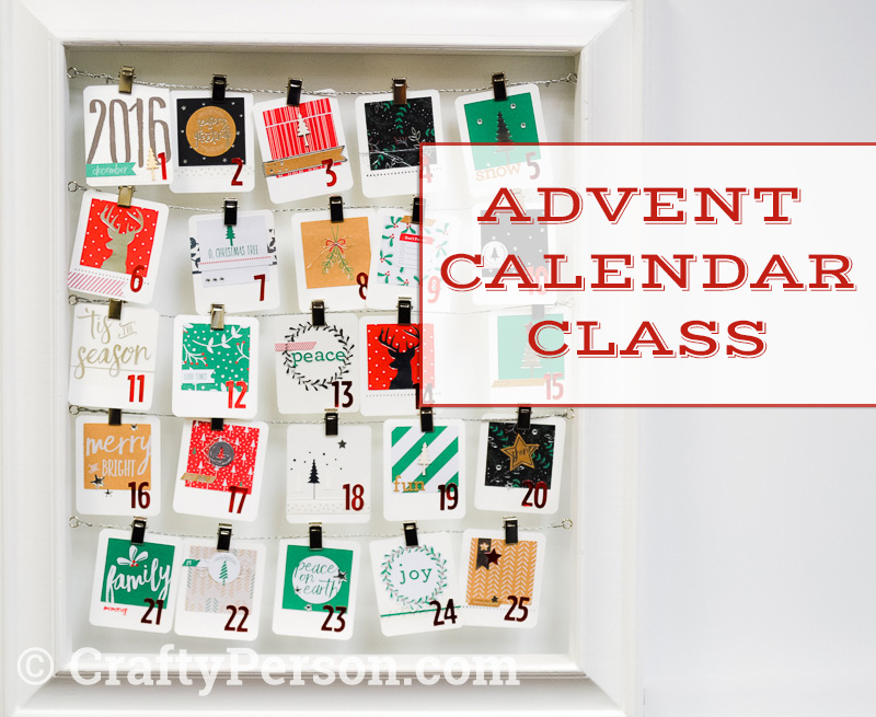 Advent Calendar Class Portland Oregon
