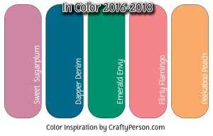 2016-2018 Stampin' Up! In Colors