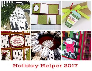 Holiday Helper 2017 for Demonstrator Newsletter