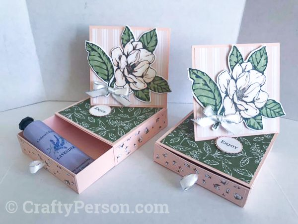 Summer Fun 2019 MarketPlace - Magnolia Lane Twisted Easel Card Box