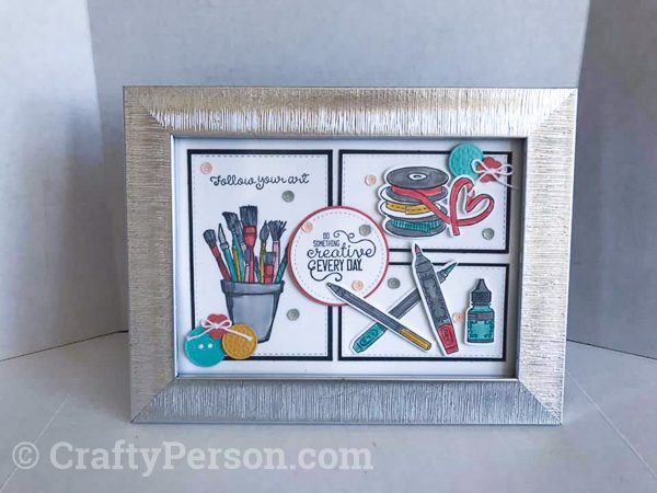 "Summer Fun 2019 MarketPlace - 5""x7"" Follow Your Art Frame"
