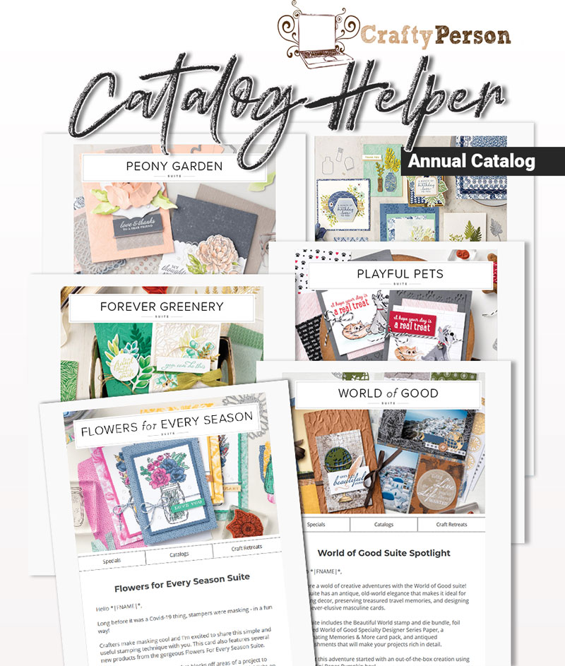 Demonstrator Done-For-You Catalog Helper Annual Catalog 2020-2021
