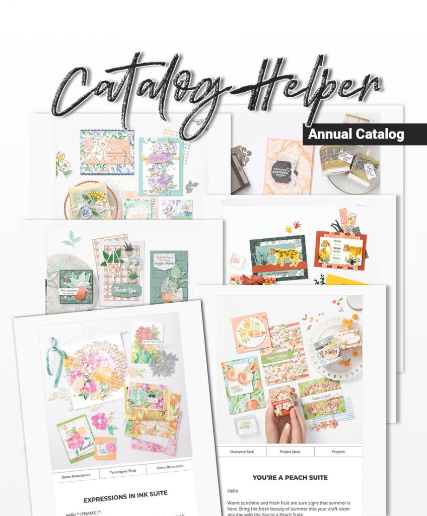 CraftyPerson Annual Catalog Helper Demonstrator Newsletters