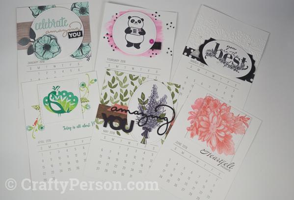 Sale-A-Bration Mini Calendar Gift Set