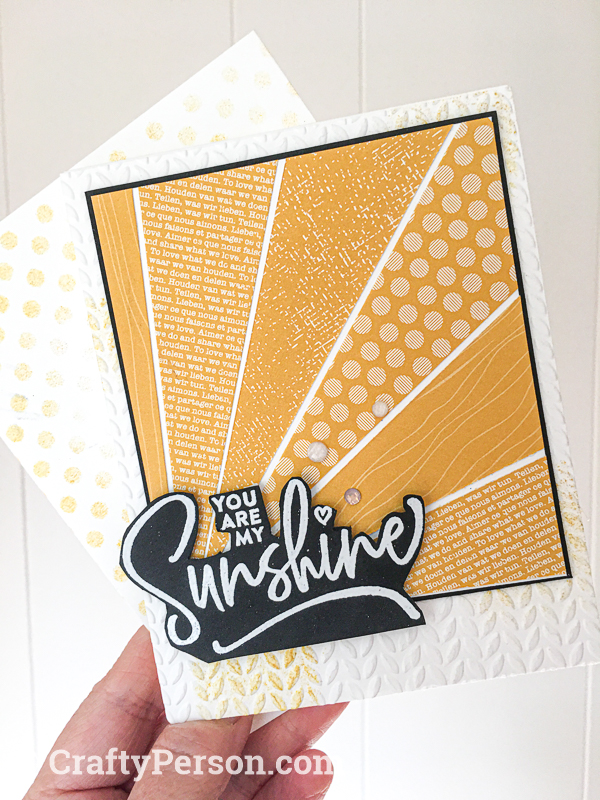 CraftyPerson July 2020 Starburst Card