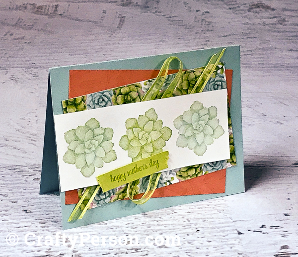 CraftyPerson April Card Layout