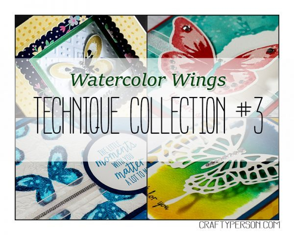 Technique Collection #3 Watercolor Wings