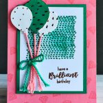 Stampin' Up! Paper Pumpkin Kit - July 2016 Alternate Project